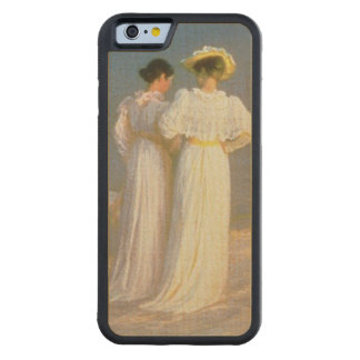 Summer Evening on the Skagen Southern Beach Carved Maple iPhone 6 Bumper Case
