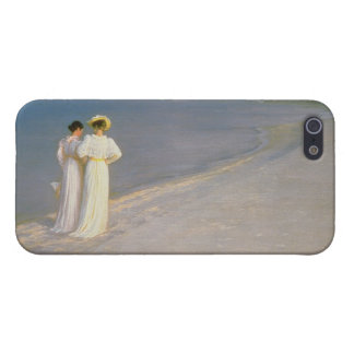 Summer Evening on the Skagen Southern Beach Cover For iPhone SE/5/5s