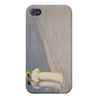 Summer Evening on the Skagen Southern Beach iPhone 4 Cases
