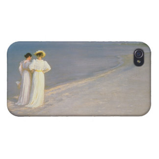 Summer Evening on the Skagen Southern Beach iPhone 4 Covers