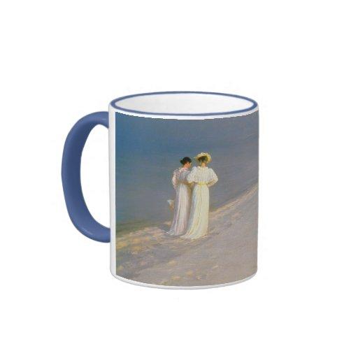 Summer Evening on the Skagen Southern Beach Coffee Mug