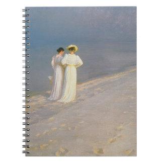 Summer Evening on the Skagen Southern Beach Notebook