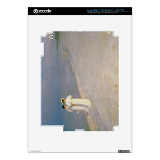 Summer Evening on the Skagen Southern Beach Skin For iPad 3