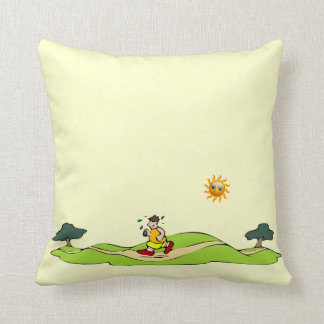 Summer Exercise Funny Pillows