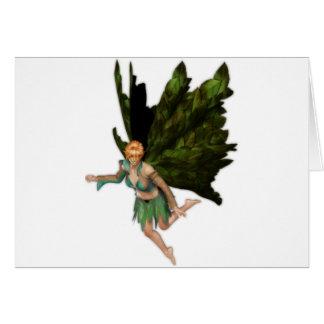 Summer Fae Fairy Card