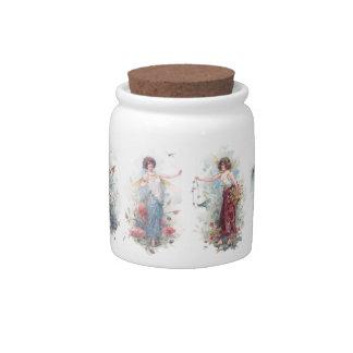 Summer Fairy Candy Jars