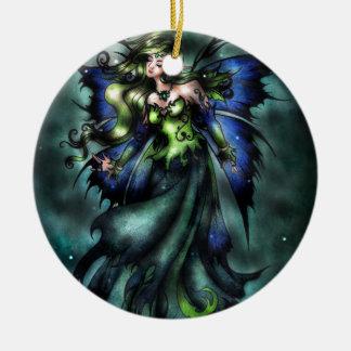Summer Fairy Ceramic Ornament