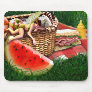Summer Fairy Mouse Pad