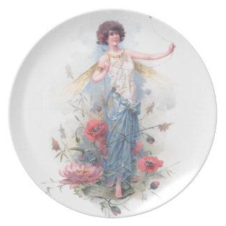 Summer Fairy Plate