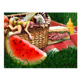 Summer Fairy Postcard