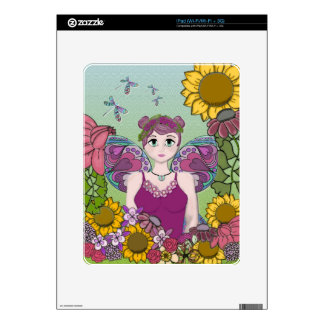 Summer Fairy with Dragonflies Decals For iPad