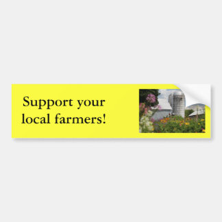 Summer Farm Bumper Sticker