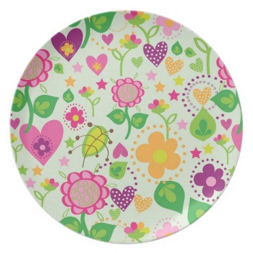 summer feeling dinner plates