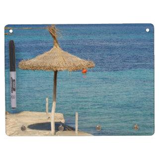 Summer Feeling - Memoboard Dry Erase Board With Keychain Holder