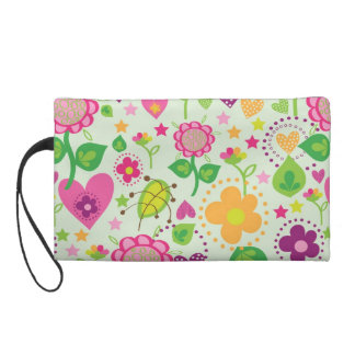 summer feeling wristlet purse