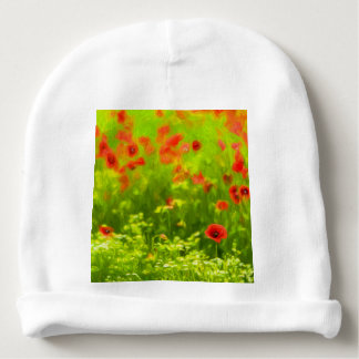 Summer Feelings - wonderful poppy flowers I Baby Beanie