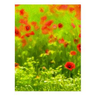 Summer Feelings - wonderful poppy flowers I Postcard