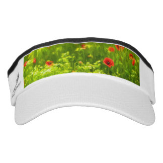 Summer Feelings - wonderful poppy flowers I Visor
