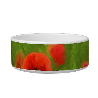 Summer Feelings - wonderful poppy flowers II Bowl