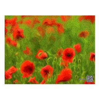 Summer Feelings - wonderful poppy flowers II Postcard