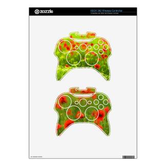 Summer Feelings - wonderful poppy flowers II Xbox 360 Controller Decal