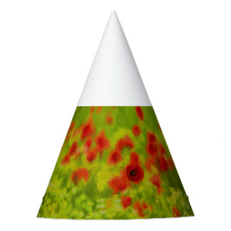 Summer Feelings - wonderful poppy flowers III Party Hat