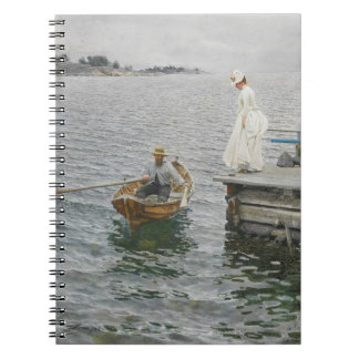 Summer Ferry 1886 Notebook