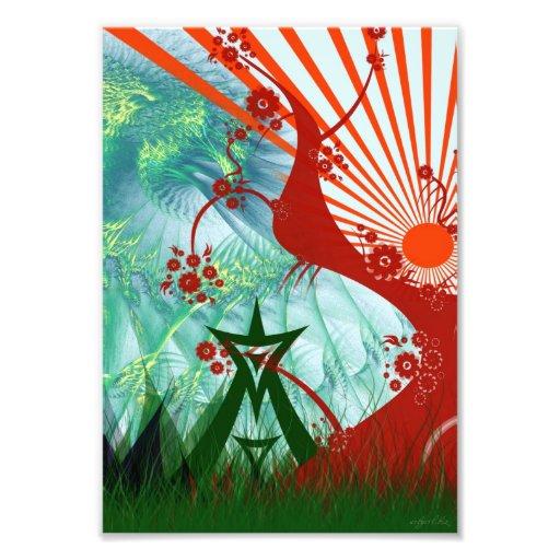 Summer Festival Art Print Photo