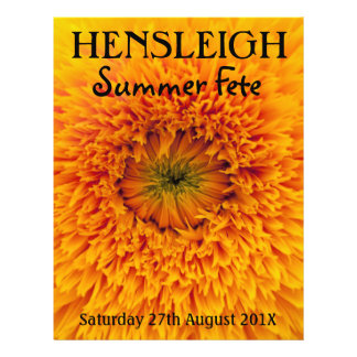 Summer Fete flyer