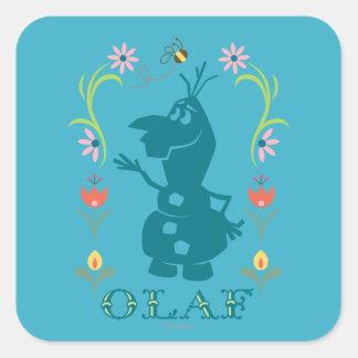 Summer Fever Square Sticker