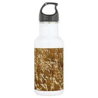 summer fields stainless steel water bottle