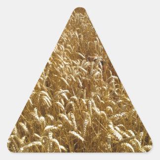 summer fields triangle sticker