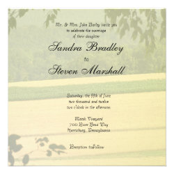 Summer Fields Wedding Invitations
