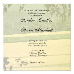 Summer Fields Wedding Invitations