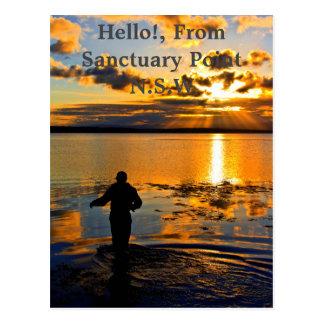 Summer Fishing Postcard