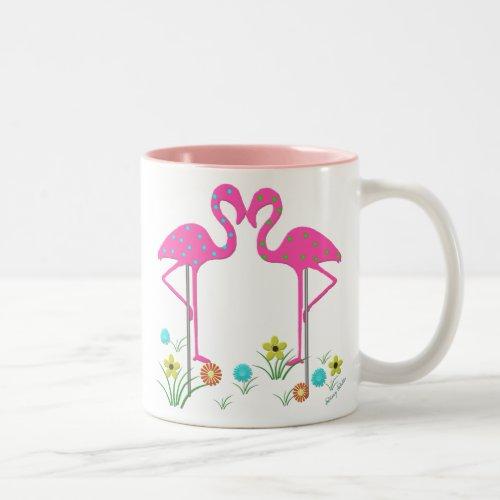 Summer Flamingo Mug mug