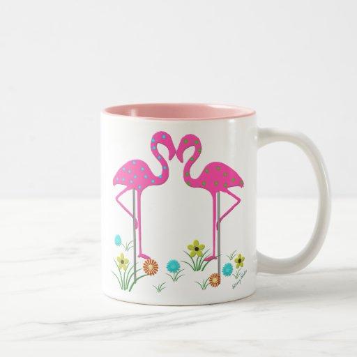 Summer Flamingo Mug