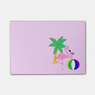 Summer Flamingo Post-it® Notes