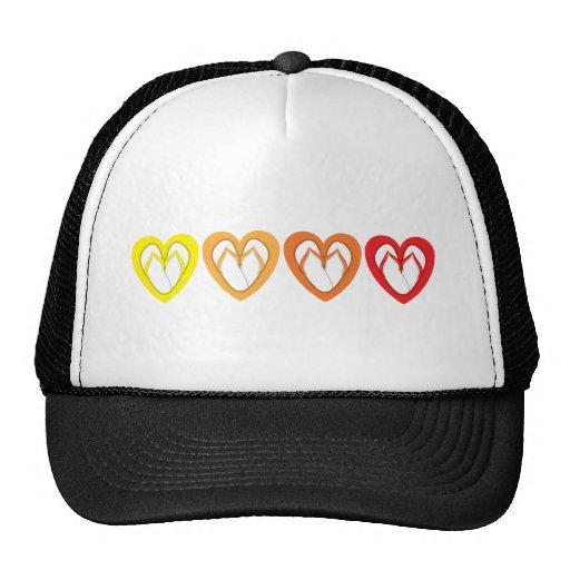 summer flip flop design mesh hats