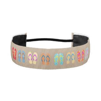 Summer Flip Flops Pattern Headband