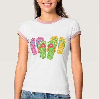 Summer Flip Flops Tee Shirt