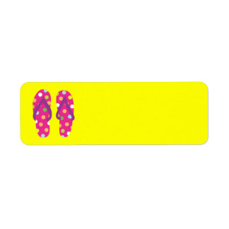 Summer FlipFlops 2 Label