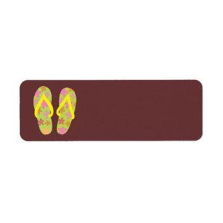 Summer FlipFlops 3 Label