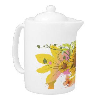 Summer Floral 1A Teapot