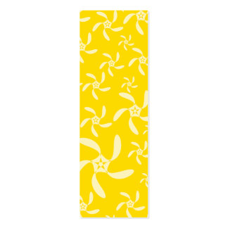 Summer Floral Design. Sunny Yellow. Business Card Templates