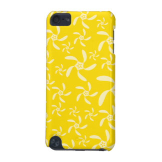 Summer Floral Design Sunny Yellow iPod Touch 5G Cover