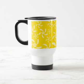 Summer Floral Design. Sunny Yellow. Mug
