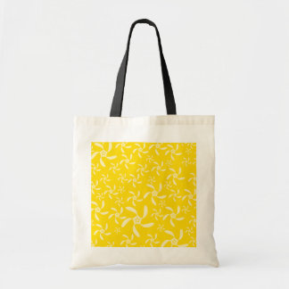 Summer Floral Design. Sunny Yellow. Tote Bag