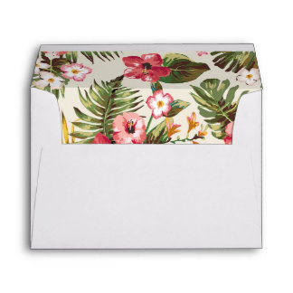Summer floral envelope III