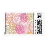 Summer Floral Postage Stamp
